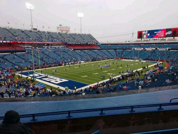 Buffalo Bills Stadium, section: 218, row: 7, seat: 16