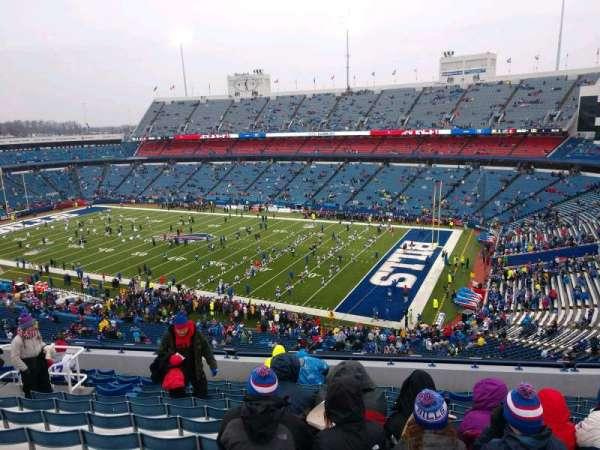 Highmark Stadium, section: 329, row: 13, seat: 16