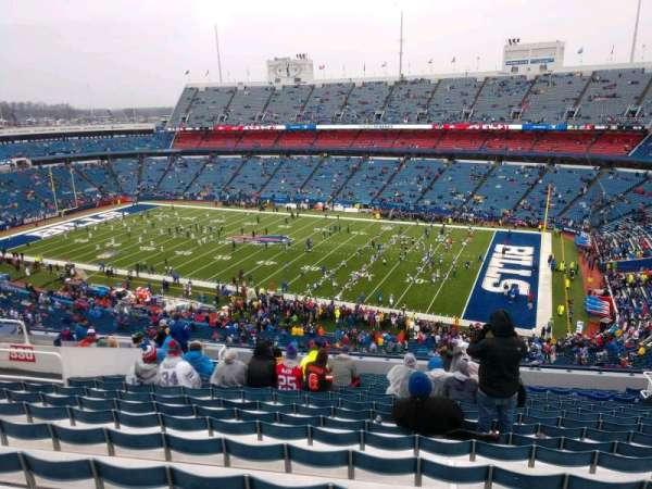 Highmark Stadium, section: 330, row: 20, seat: 16