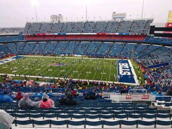 Highmark Stadium, section: 331, row: 23, seat: 7