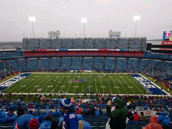 New Era Field, section: 333, row: 27, seat: 12