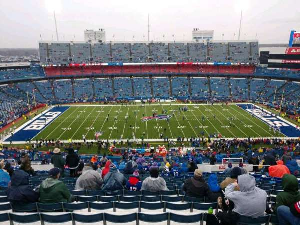 Highmark Stadium, section: 334, row: 29, seat: 12