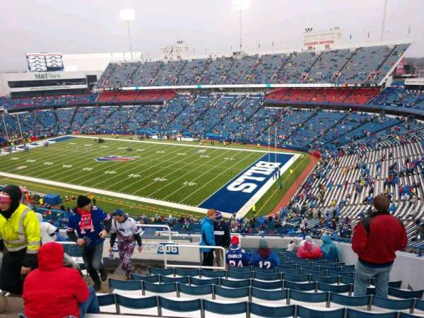 Buffalo Bills Stadium, section: 306, row: 20, seat: 6