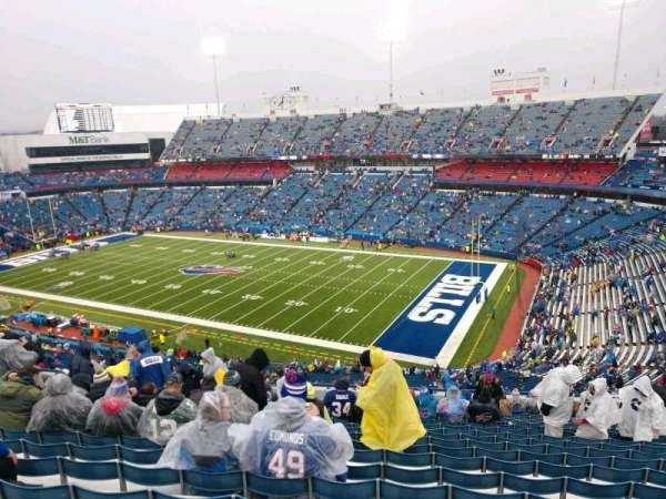 Buffalo Bills Stadium, section: 307, row: 21, seat: 13