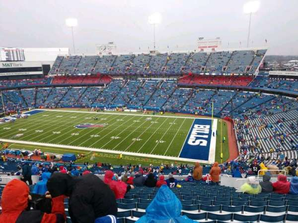 Buffalo Bills Stadium, section: 308, row: 25, seat: 11
