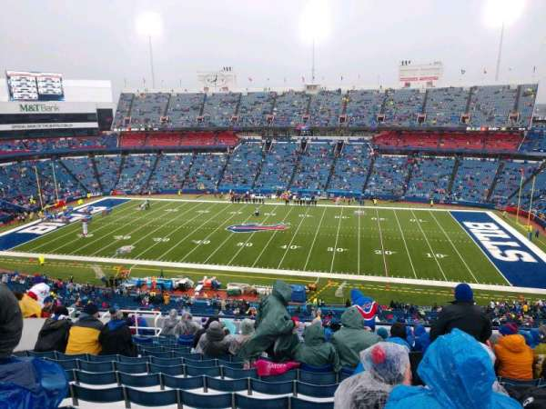 Buffalo Bills Stadium, section: 310, row: 18, seat: 17