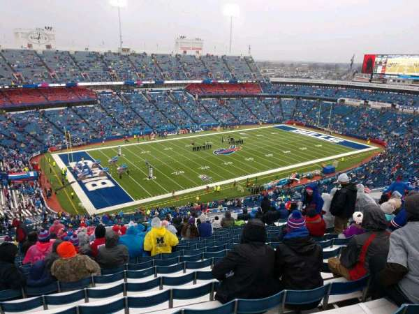 Buffalo Bills Stadium, section: 316, row: 33, seat: 11
