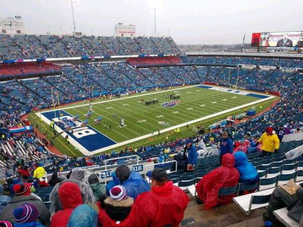 Buffalo Bills Stadium, section: 317, row: 22, seat: 3