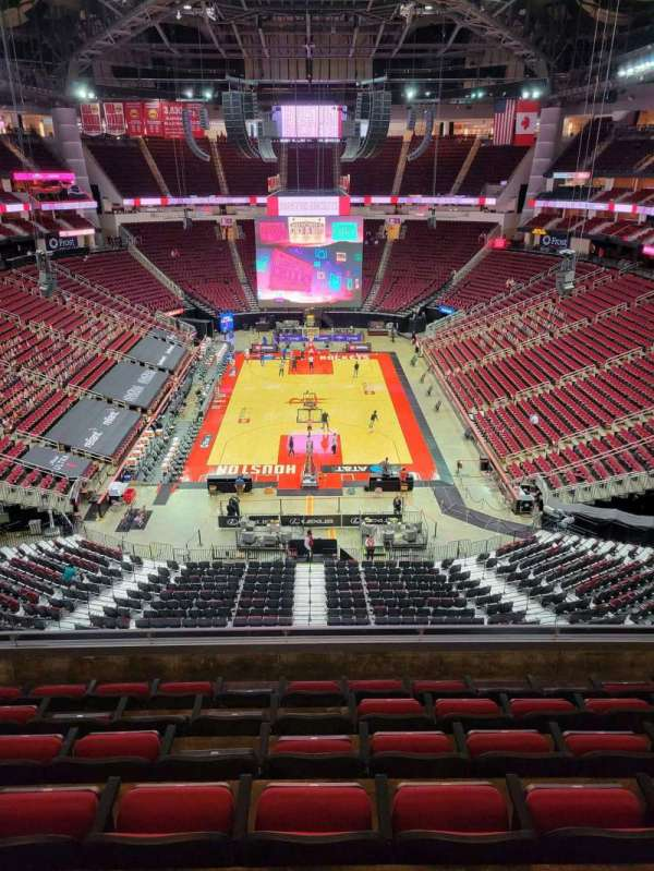 Toyota Center, section: 418, row: 7, seat: 7