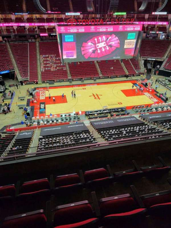 Toyota Center, section: 428, row: 4, seat: 4