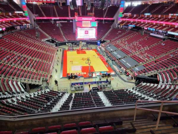 Toyota Center, section: 402, row: 6, seat: 4