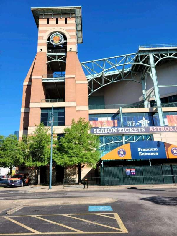 Minute Maid Park, section: Clock Tower Entrance