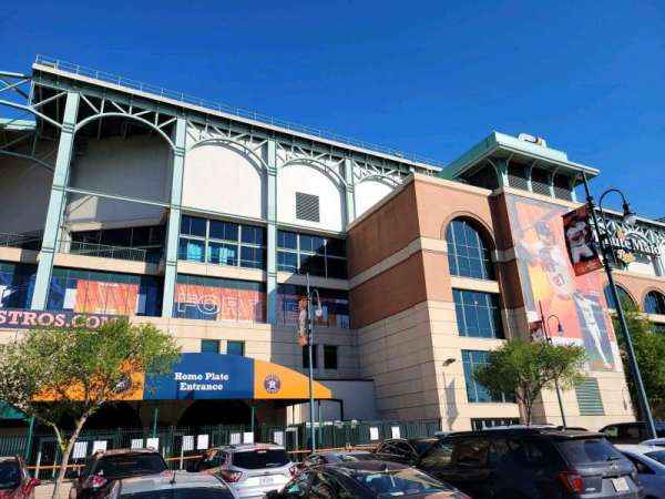 Minute Maid Park, section: home plate entrance