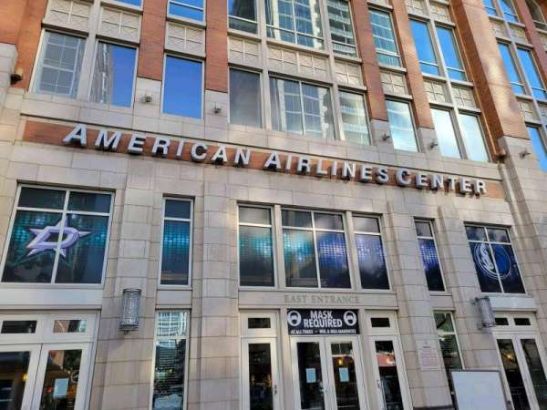 American Airlines Center, section: East Entrance
