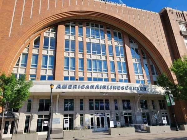 American Airlines Center, section: North Entrance