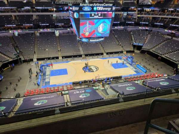 American Airlines Center, section: 328, row: c, seat: 1