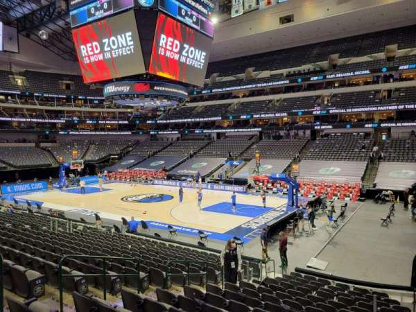 American Airlines Center, section: 104, row: H, seat: 10