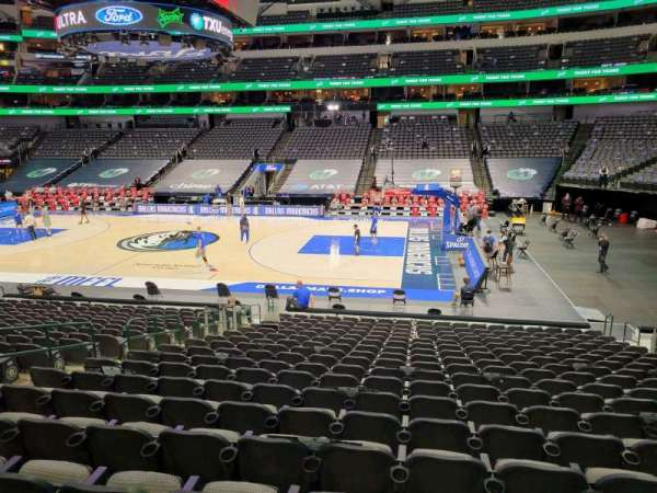 American Airlines Center, section: 105, row: T, seat: 10