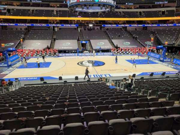 American Airlines Center, section: 107, row: U, seat: 10