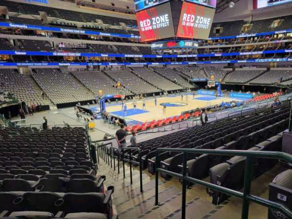 American Airlines Center, section: 122, row: X, seat: 1