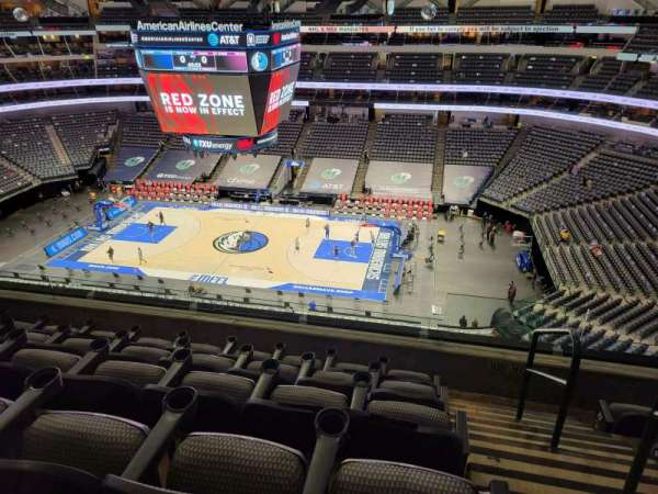 American Airlines Center, section: 308, row: E, seat: 1