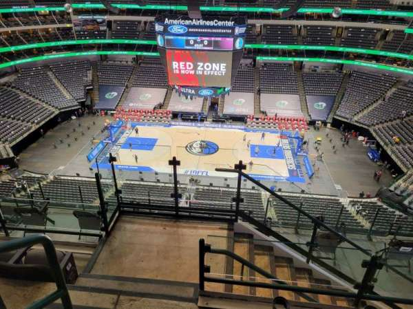 American Airlines Center, section: 309, row: J, seat: 19