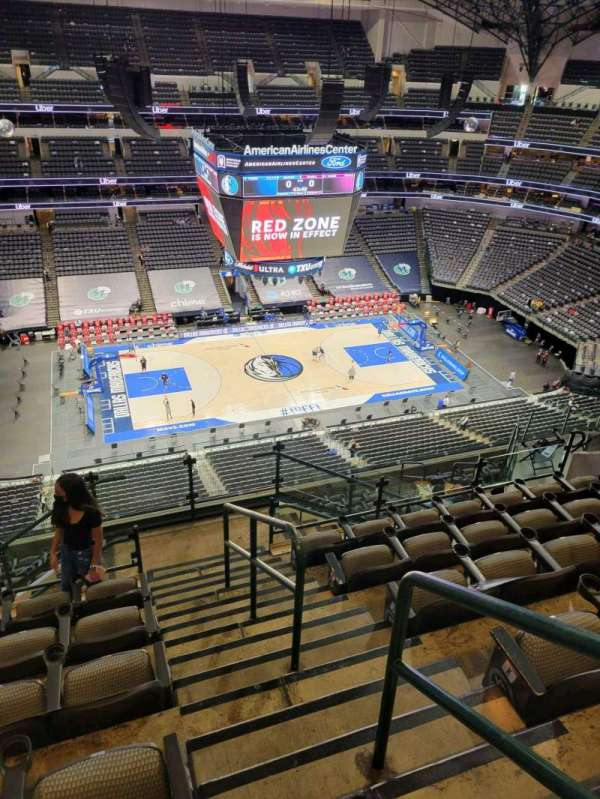 American Airlines Center, section: 312, row: M, seat: 1