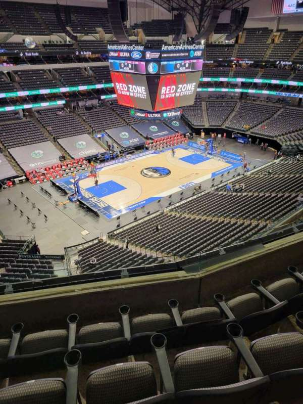American Airlines Center, section: 313, row: D, seat: 10