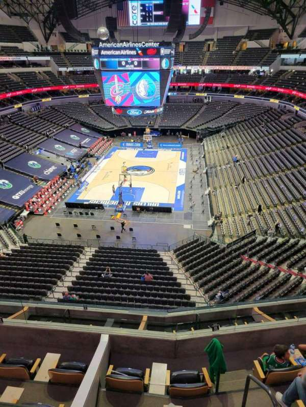 American Airlines Center, section: 317, row: A, seat: 10