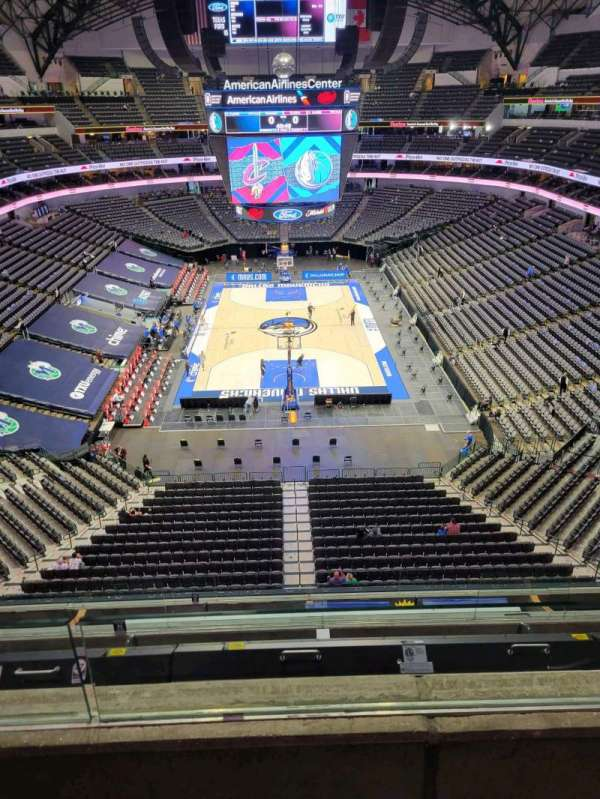 American Airlines Center, section: 318, row: B, seat: 10