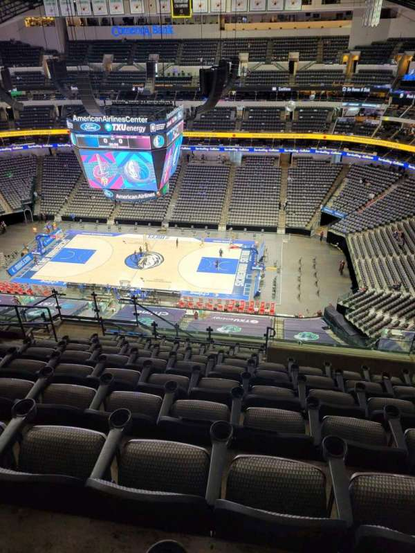 American Airlines Center, section: 324, row: P, seat: 24