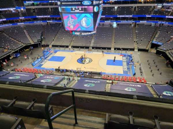 American Airlines Center, section: 325, row: D, seat: 1