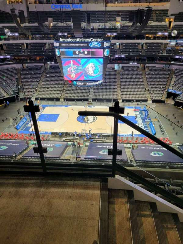 American Airlines Center, section: 325, row: G, seat: 19