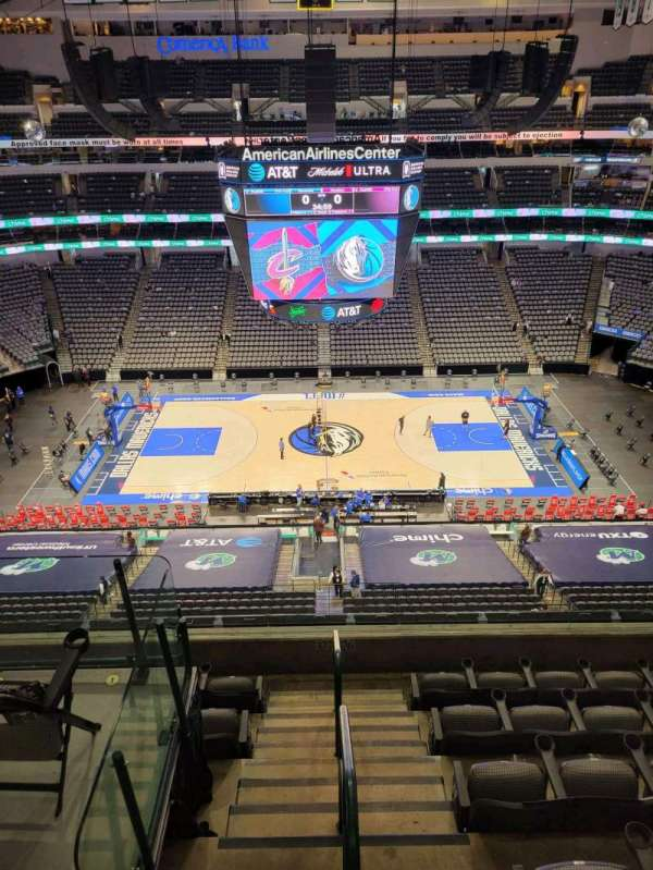 American Airlines Center, section: 326, row: F, seat: 8