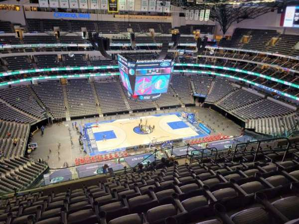 American Airlines Center, section: 328, row: S, seat: 10