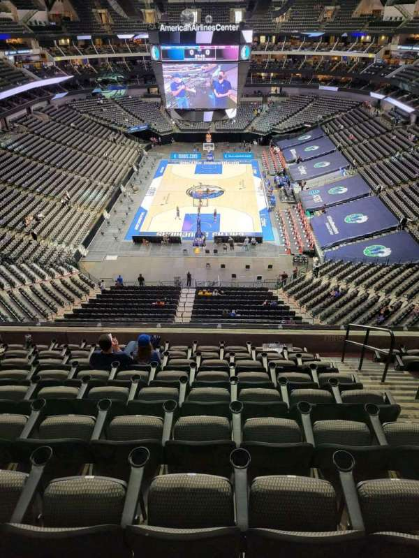 American Airlines Center, section: 301, row: D, seat: 4