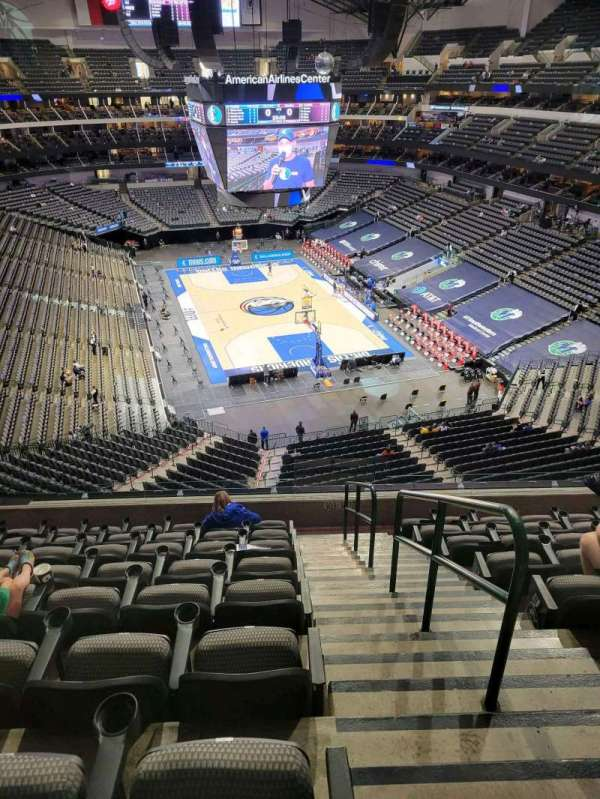 American Airlines Center, section: 303, row: C, seat: 1