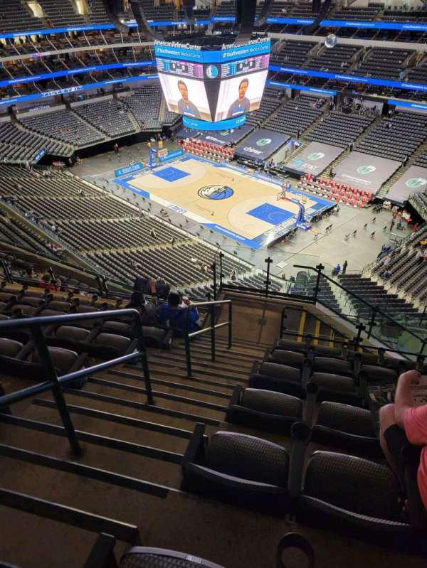 American Airlines Center, section: 305, row: N, seat: 10