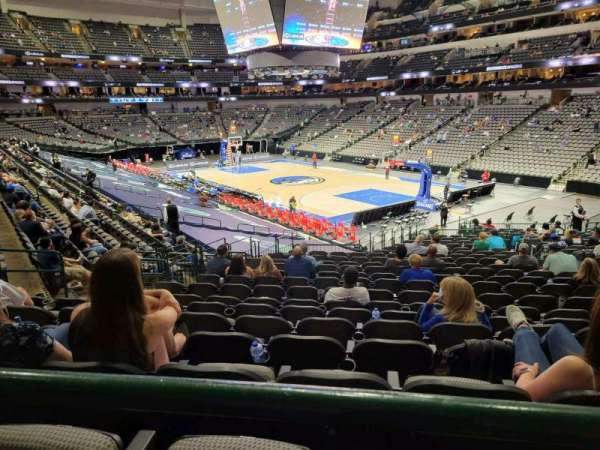 American Airlines Center, section: 115, row: wc, seat: 7