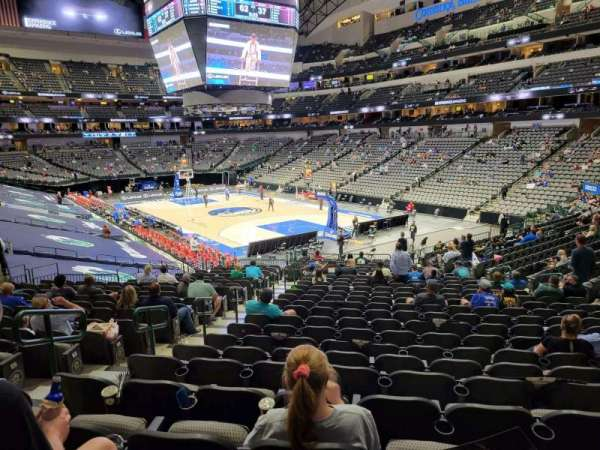 American Airlines Center, section: 114, row: wc, seat: 17
