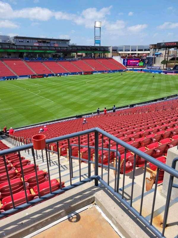 Toyota Stadium, section: 122, row: 31, seat: 19