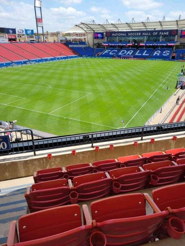 Toyota Stadium, section: 100, row: 4, seat: 4