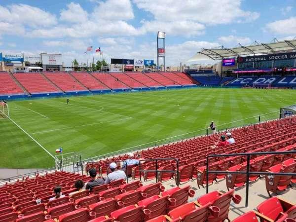 Toyota Stadium, section: 101, row: 17, seat: 10