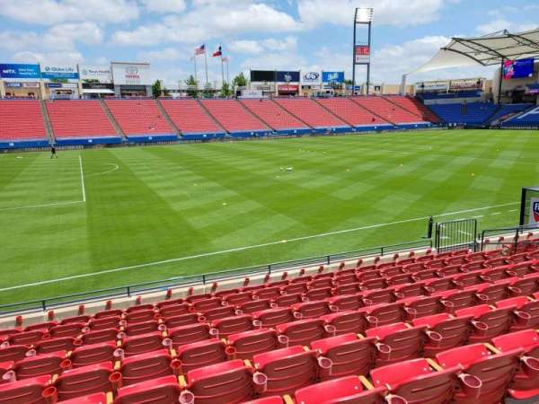 Toyota Stadium, section: 103, row: 10, seat: 10