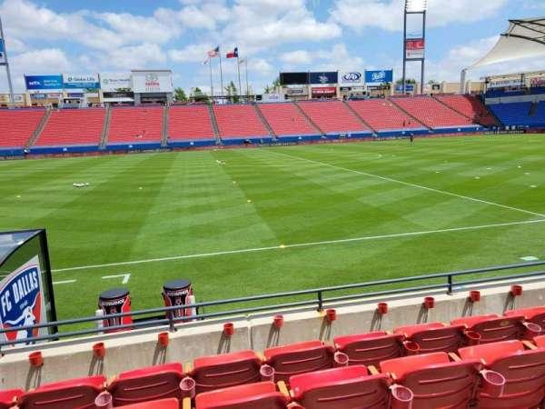 Toyota Stadium, section: 105, row: 5, seat: 10