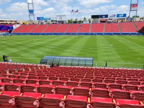 Toyota Stadium, section: 108, row: 16, seat: 10