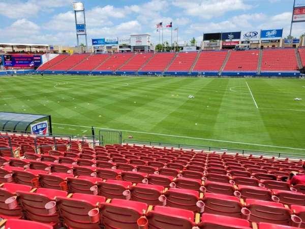 Toyota Stadium, section: 109, row: 13, seat: 10