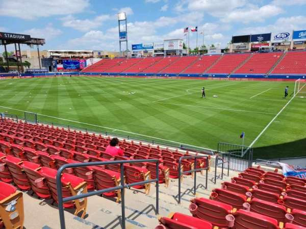 Toyota Stadium, section: 111, row: 11, seat: 3