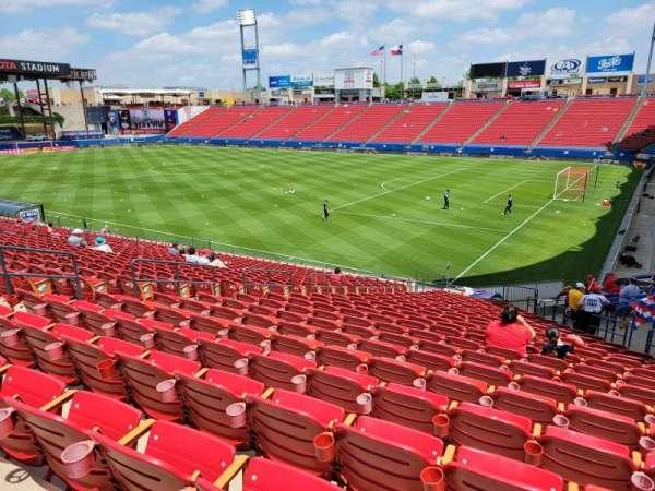 Toyota Stadium, section: 111, row: 24, seat: 11