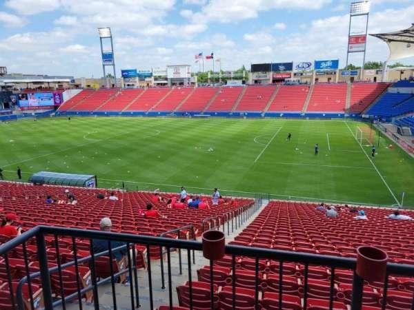 Toyota Stadium, section: 110, row: 31, seat: 2